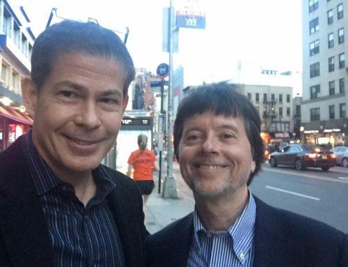Erik B Villard and Ken Burns