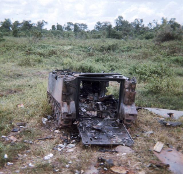 damage armored vehicles
