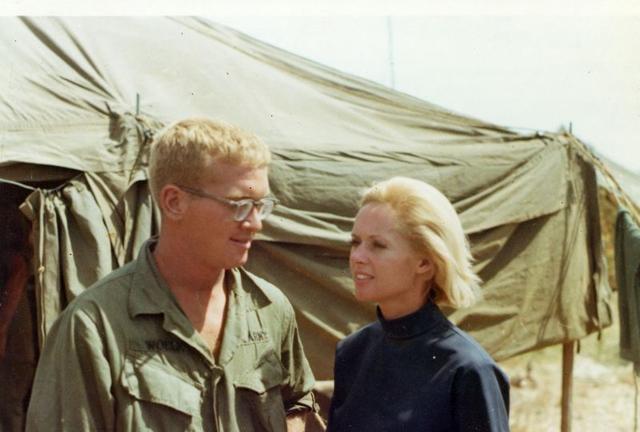 Chris and Tippi Hedren