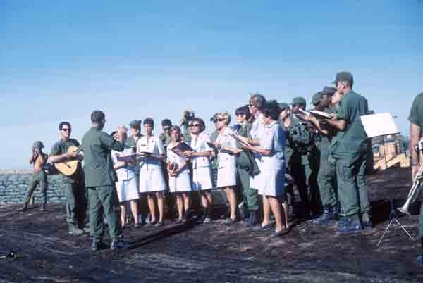 Red Cross singers